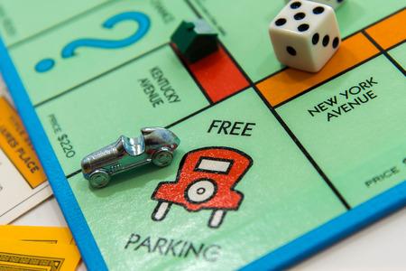Juego de mesa Monopoly Foto de archivo - 33737240