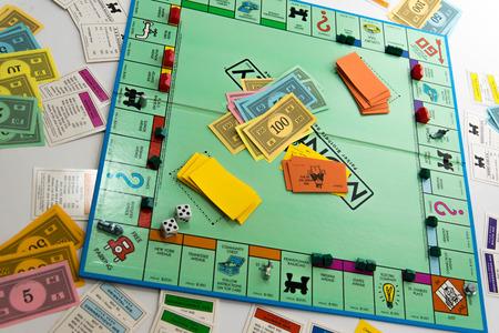 Juego de mesa Monopoly Foto de archivo - 33737242