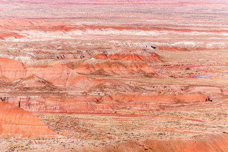 arizona scenery: Petrified Forest, AZ, USA Stock Photo