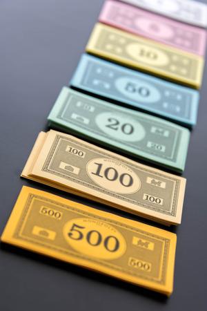 monopolio: 08 de febrero 2015 - Houston, TX, EE.UU.. Dinero del Monopoly