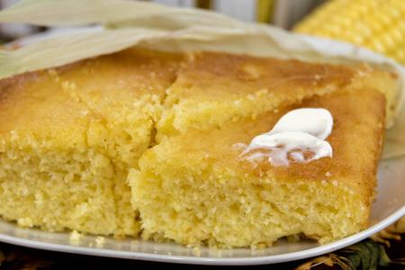 fresco pan al horno horno de pan de maíz