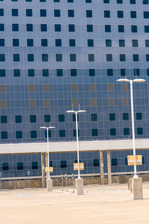 tx: August 19, 2015 - Dallas, Texas, USA: Exterior views of the new addition to Parkland Memorial Hospital