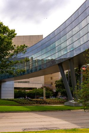 August 19, 2015 - Dallas, Texas, USA: Exterior views of the new addition to Parkland Memorial Hospital