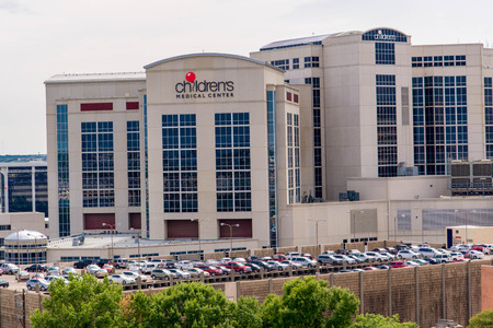August 19, 2015 - Dallas, Texas, USA: Exterior views of the new addition to the Childrens Medical Center Editorial