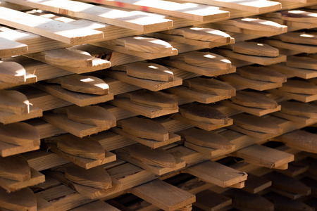 outdoor building materials - wood fencing sections