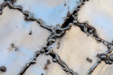 Welded: Welded metal aluminum plates