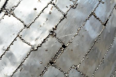 soldadura: Soldada modelo placas de aluminio