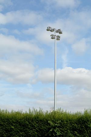 floodlights: Rugby ground floodlights