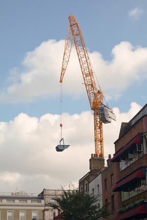 grue  tour: Grue � tour � Londres Banque d'images