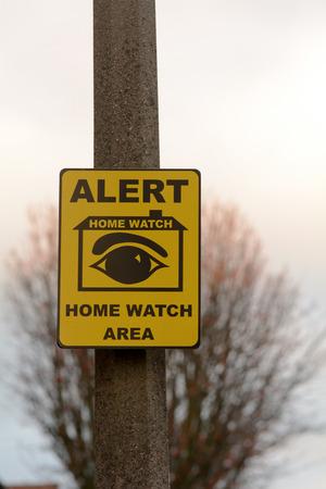 neighbourhood: Home Watch in neighbourhood sign