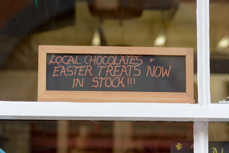 treats: Easter Treats in Stock Sign