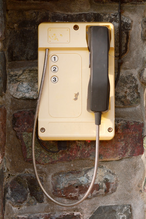 coastguard: Yellow phone to call coastguard