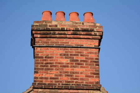 Victorian Chimney stack Stock Photo