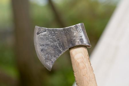 viking: Viking style hand axe
