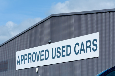 endorse: Approved Used Cars  sign
