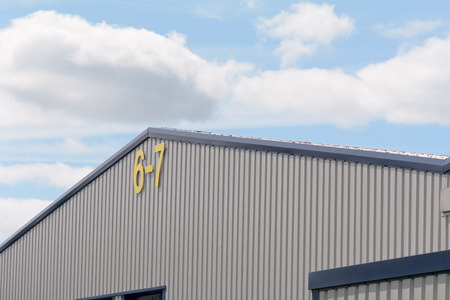 prefab: Factory Units 6 and 7 sign