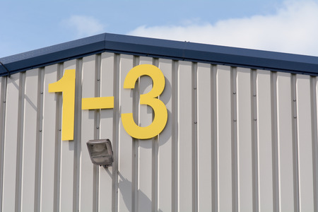 prefab: Factory Units 1 to 3 sign