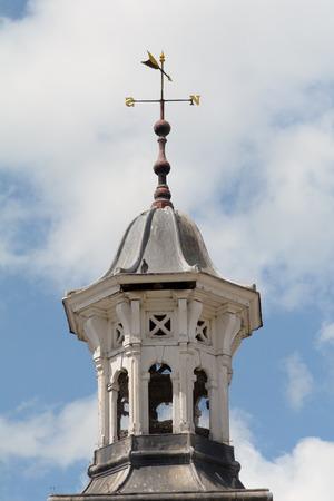 wiatrowskaz: Tower with weather vane