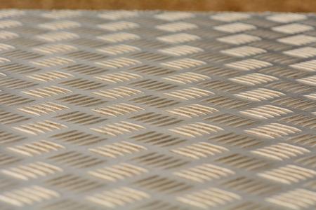 indentation: metal pattern Stock Photo