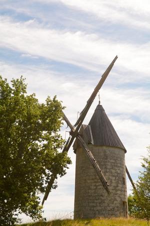 thomas: Old windmill in St Thomas de Conac, Charentes region, France