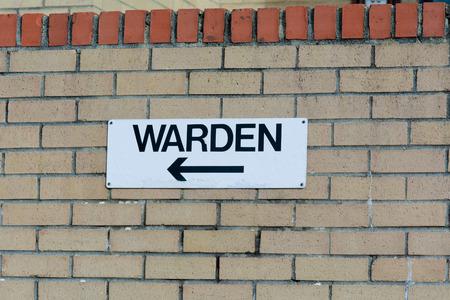 warden: