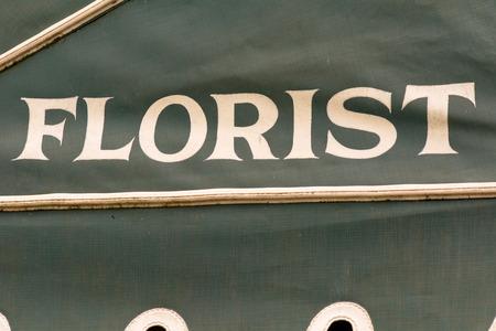 florist: Florist sign Stock Photo