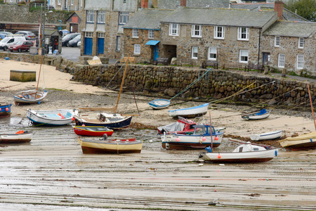 mousehole: Mousehole harbour, Cornwall, England