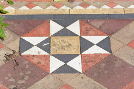 octogonal: patr�n de mosaico octagonal Foto de archivo