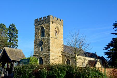 marys: St Marys Church at Woughton-on-the-Green, Buckinghamshire, England