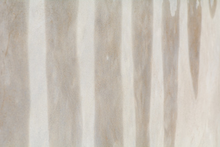 newly: Newly plastered wall drying in sunshine Stock Photo