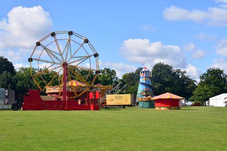 fairground: Fairground rides