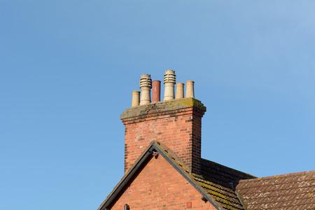 Chimney stack Reklamní fotografie