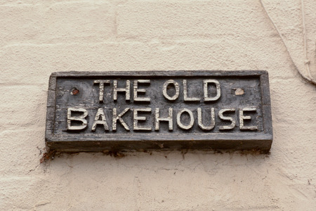 The Old Bakehouse sign
