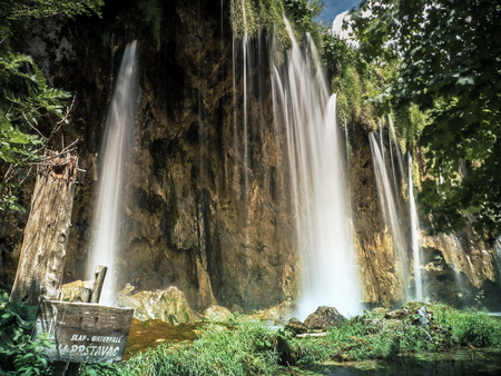 Shot at Plitvice Lakes in Croatia photo