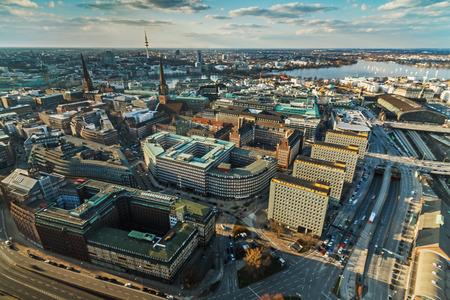 reeperbahn: Hamburg City Stock Photo