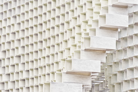 fibreglass: July 2016 - London, England : The Serpentine Gallery Pavilion, designed by Danish architects BIG (Bjarke Ingels Group) at Hyde Park on 28 July 2016 in London, United Kingdom Editorial