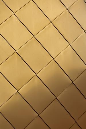 Golden metal texture background Stock Photo