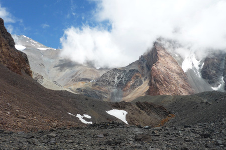 Landscape in Argentinian Andes