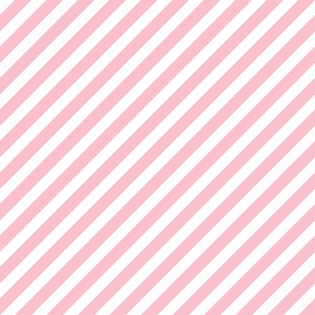 Abstract Seamless striped pink background. Vector illustration. Vettoriali