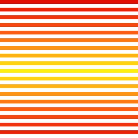 Abstract Seamless red yellow striped background Vector illustration Çizim