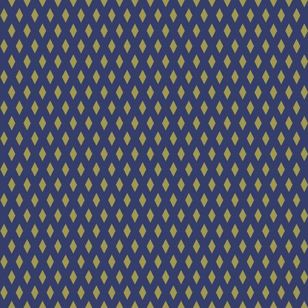 Naadloos gouden abstract patroon. Print van gouden sterren, rhombs op donkere achtergrond. Vector illustratie Stockfoto - 97575233