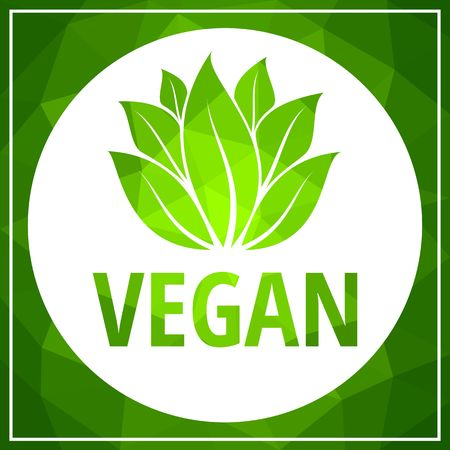 Vector illustration of Vegan food concept design. lettering for restaurant, cafe menu. Elements for labels, logos, badges, stickers. Calligraphic and typographic collection. Vegan menu