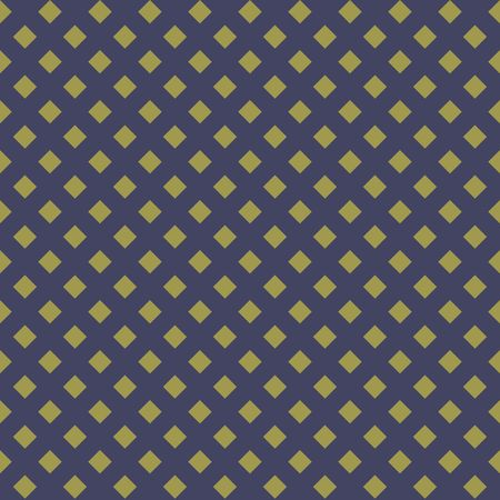 A Seamless golden abstract pattern. Print of gold stars, rhombs on dark background. Vector illustration