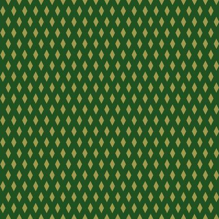 Geometrical diamond pattern design illustration