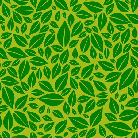 Green leaves image illustration Ilustracja