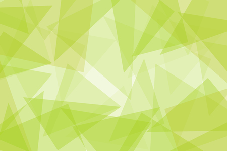 Abstract yellow business vector background with triangles - illustration
