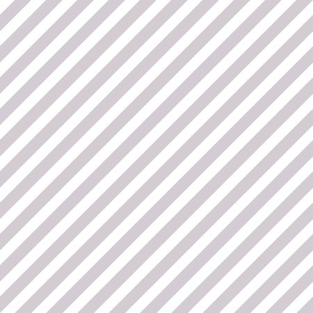 Abstract Seamless diagonal silver white striped background Vector illustration Archivio Fotografico
