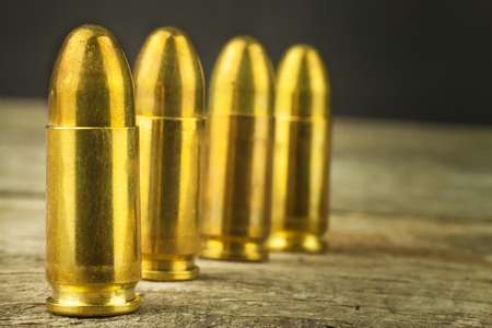 9mm ammo: 9mm caliber cartridges. Sale of weapons and ammunition. The right to bear arms