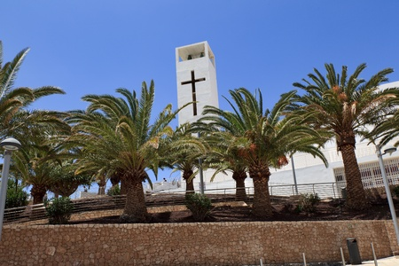 Morro Jable, Fuerteventura/ Spain, May 18, 2018: Morro Jable , Fuerteventura- Canary Islands