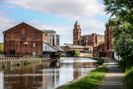 Wigan Pier, Wigan Banque d'images